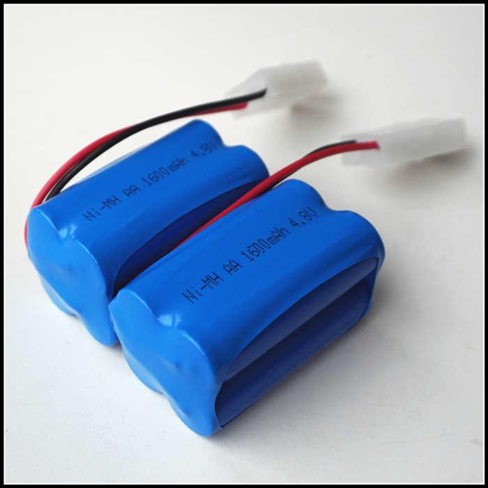 للعب 4.8 فولت 1600 مللي أمبير حزم خلايا aa ني mh قابلة للشحن بطارية 3.6 فولت الطاقة والكهرباء للكاميرات اللاعبين بطاريات