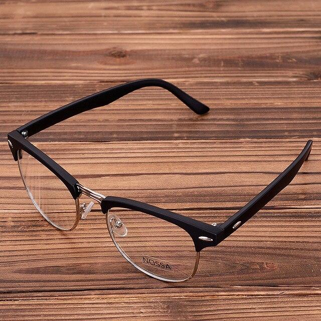 Mimi kacamata frame trend fashion kacamata klasik pria dan wanita kacamata  kotak cermin datar kecepatan jual 04f5e3cb62