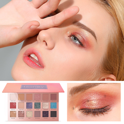 FOCALLURE 18 Colors Eyeshadow Sweet Pallete Makeup Cosmetics