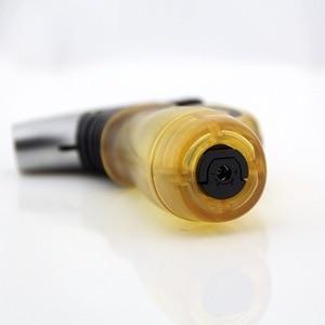 Image 4 - Compact Butane Jet Lighter Turbo Torch Lighter Fire Windproof Spray Gun Lighter 1300 C NO GAS