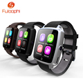 "U11C Bluetooth Smartwatch MTK2502C 1.54"" LCD Display Smart Watch Support SIM Card MP3/4 for Android iOS Apple Pk GT88 GT08 DZ09"