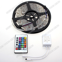 Waterproof RGB Led Strip Set Changeable Color Flexible Led Light 5050 SMD 5M 300leds Led Rope