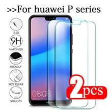 2 pçs vidro temperado para huawei p20 lite vidro huawe p40 luz e p30 p 40 20 pro p10 plus p9 mini p8 protetor de tela película de segurança