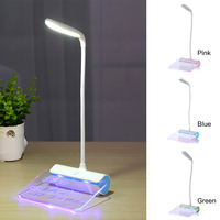 Newest Design USB Rechargeable Desk Lamp LED Light With Message Board Touch Switch Best Gift For
