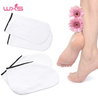 1 Pair Whit Moisturizing Soften Repair Cracked Foot Skin Treatment Gel Spa Socks Foot Care Stretchable