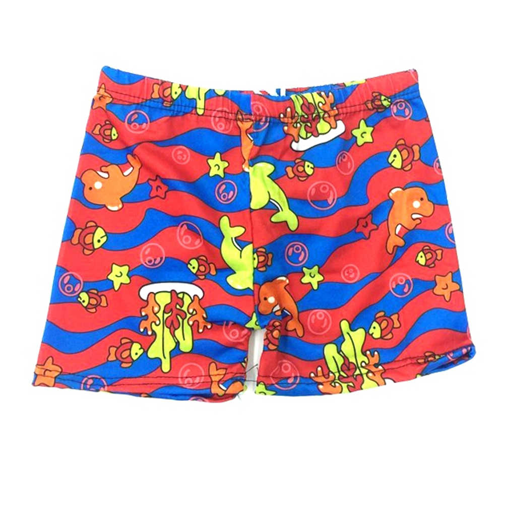 1PCS Strand Bademode Shorts altersgruppen 3 zu 8 Jungen Sommer Schwimmen Tragen Cartoon Gedruckt Kleinkind Baby Kid Kind Schwimmen badehose Badeanzug