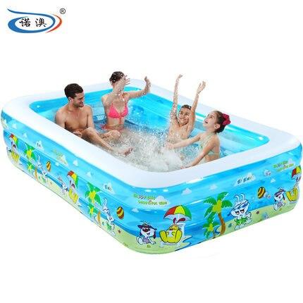 Piscine gonflable enfant grande piscine boule de mer épaississement pataugeoire baignoire adulte