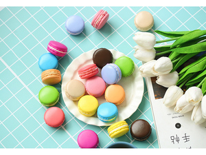 Image 5 - Multiple Colors Macarons Simulated Baking Artificial Bread ins Photography Props DIY Decoration Photo Taking Picture Accessories