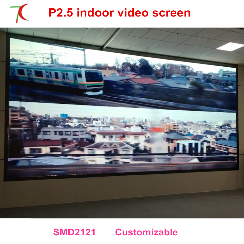 Yao Caixing P2.5 Inoor Full Color Modules Use For High Definition Visual Feast P2.5 Led Display