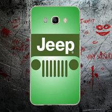 Car Jeep Wrangler Compact Sport Soft TPU Transparent Cell Phone Cases For Samsung Galaxy J1 J2 J3 J5 J7 A3 A5 A7 2016 2017 Shell
