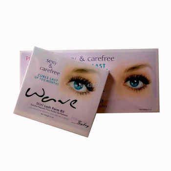 1 set High Quality eyelash perm lotion Eyelash Perm Super Eyelash Curling Perm Kit Eyelash Wave Lotion Last up to 3 Months