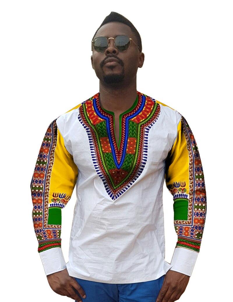 African Print Shirts Mens