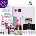 Sexy Mix High Quality 36W UV Nail Dryer Lamp with Full Set Acrylic Nail Kit Tools Perfect Manicure Nail Art Tools for Nail DIY