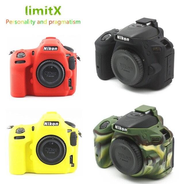 لينة سيليكون DSLR كاميرا حالة غطاء حقيبة لنيكون Z7 Z6 D780 D750 D850 D3300 D3400 D3500 D5300 D5500 D5600 D7100 D7200 D7500
