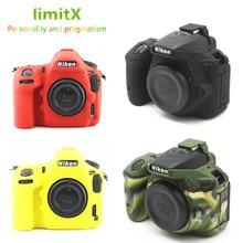 Soft Silicone DSLR Camera Case bag Cover for Nikon Z7 Z6 D780 D750 D850 D3300 D3400 D3500 D5300 D5500 D5600 D7100 D7200 D7500