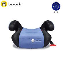 BAAOBAAB Backless Boosters Car Seat Group 2/3 (15-36 kg) Anti Slip SeatBelts Positioning Child Safety Seats for 4-12 Years(China)