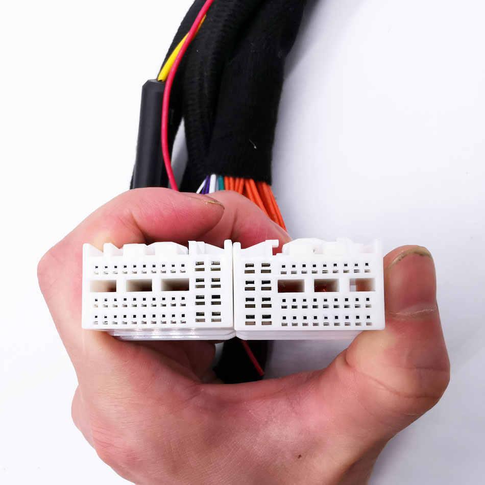 PUZU #37 автомобиль усилитель цифровой обработки сигналов жгуты проводки ISO кабель для нового Kia автомобили hyundai