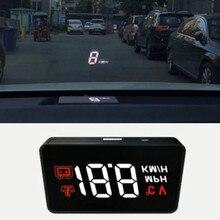 Coche Del Vehículo OBD2 HUD Subida Monitor OBD Conducción Velocidad de la Computadora Proyector head up display Seguridad A100 Simple car styling