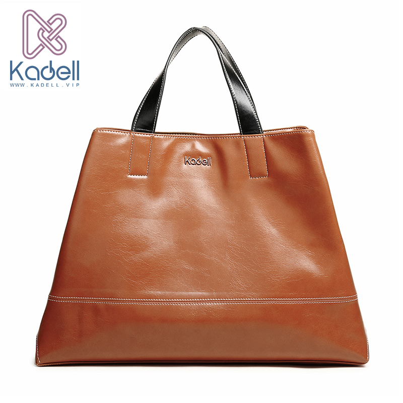 Kadell Unisex Handbags For Men Large-Capacity Portable Shoulder Bags Travel Bags Package Soft PU Leather Retro Bags Women kadell unisex handbags for men large capacity portable shoulder bags travel bags package soft pu leather retro bags women