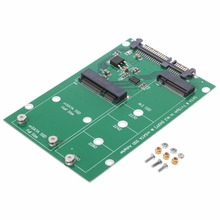 MSATA и M.2(B-Key NGFF) 2в1 размер несколько SSD для SATA 3 III адаптер конвертер