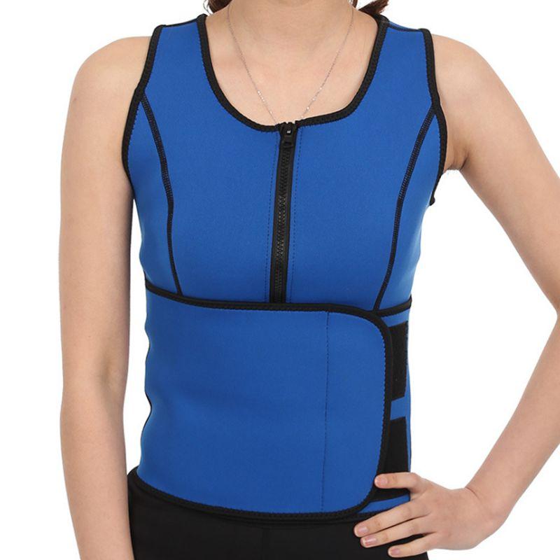 Hot Neoprene Waist Adjustable Belt Sweat Sauna Slimming Belt Body Shaper Waist Trainer Vest Workout Shapewear Dropshipping 5