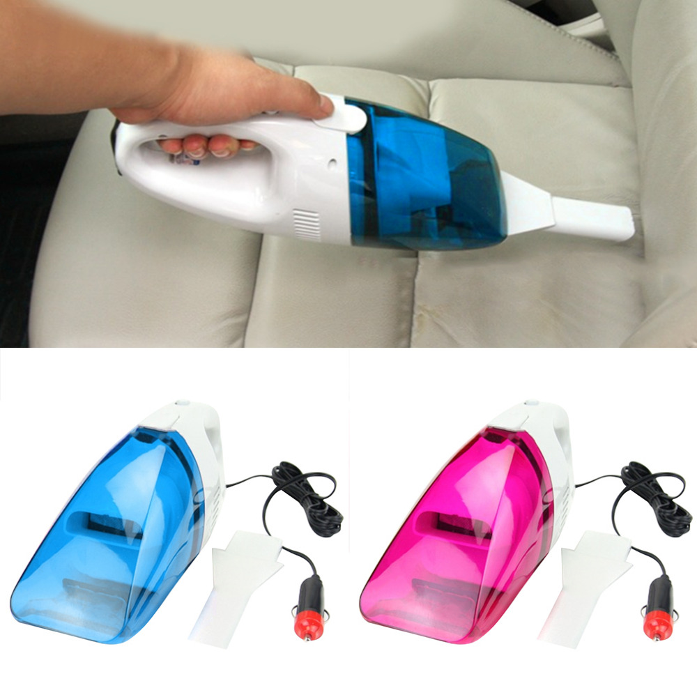 New 12V Mini Car Vacuum Cleaner Hot sale new multifunctional Hand Mini Car/Home vehicle using Vacuum Cleaner For Home Wet&Dry 75w robot vacuum cleaner wet and dry home desktop car wireless rechargeable mini hand held automatic vehicle dropshipping