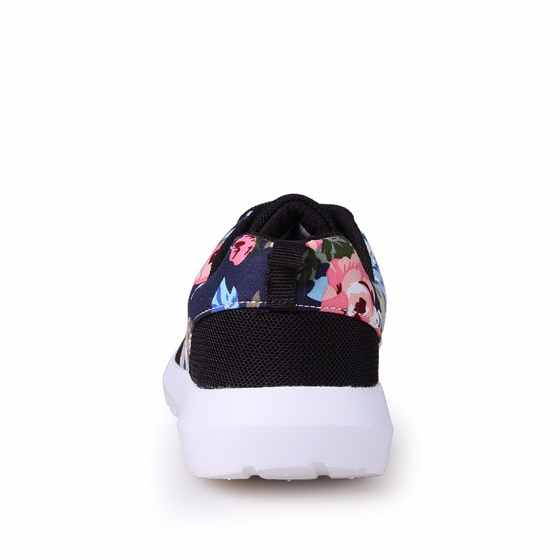 KUYUPP Fashion Breathable Print Flower Women Trainers Casual Shoes 2016 Summer Mesh Low Top Shoes Zapatillas Deportivas YD95 (46)