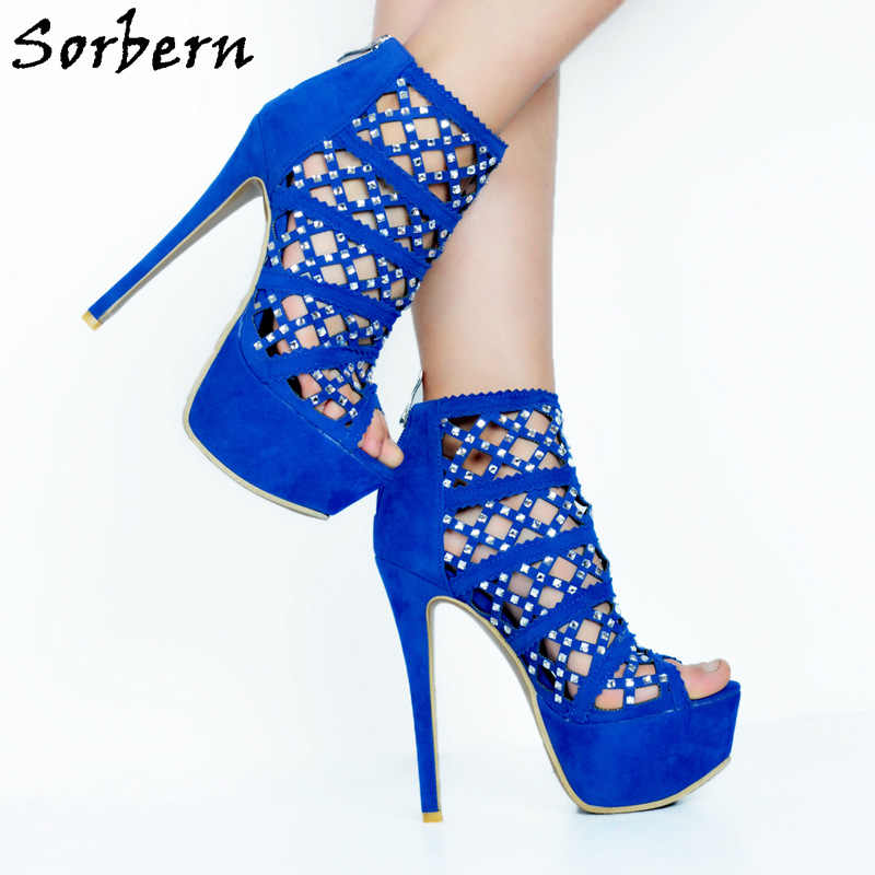 Women Sandals High Heels Platform Plus