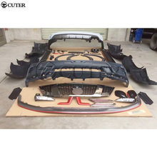 Y62 PP Unpainted Car body kit front Rear bumper Side skirts apron  for Nissan Patrol Nismo style 12-17