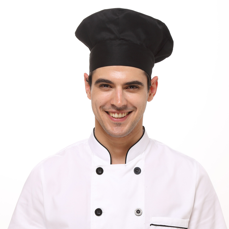 buy 2015 latest fashion hotel chef hats mens and womens cafe shop work cap. Black Bedroom Furniture Sets. Home Design Ideas