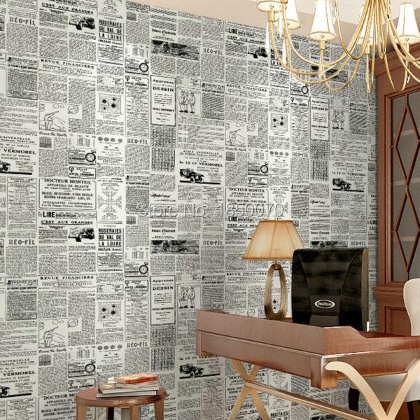 designer tapeten hochwertigen pvc tapete zeitung billige fa 1 4 r schlafzimmer wohnzimmer wande mit 3d effekt