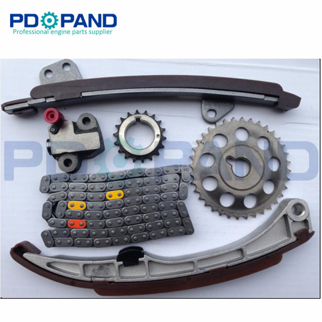 US $55 33 13% OFF|1NZ 1NZFE 1NZ FE Engine Timing Chain Gear Tensioner Kit  (6 pcs) for Toyota Vios NCP92/Yaris 1 5L-in Timing Components from