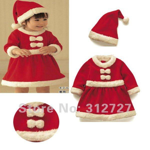 b406c1fb4 vestidos para navidad para bebes