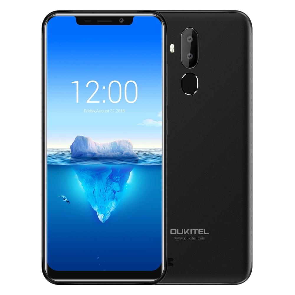 Orijinal OUKITEL C12 Pro 6.18 19:9 Android 8.1 Cep Telefonu MT6739 Quad Core 2G RAM 16G ROM parmak izi 4G 3300 mAh SmartphoneOrijinal OUKITEL C12 Pro 6.18 19:9 Android 8.1 Cep Telefonu MT6739 Quad Core 2G RAM 16G ROM parmak izi 4G 3300 mAh Smartphone
