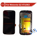 LCD Display Touch Screen Digitizer Assembly with frame For Motorola for MOTO G2 G+1 XT1063 XT1068 +Tools Free shipping