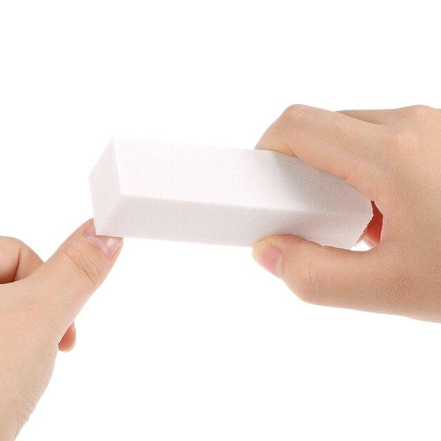10Pcs Nail File Buffer Block Dead Skin Remover Nail Art Sponge ...