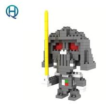 Mini Nano Blocks Star Wars  LOZ Building Blocks Darth Vader Figures Diamond Blocks Compatible Legoelieds Toys 9334