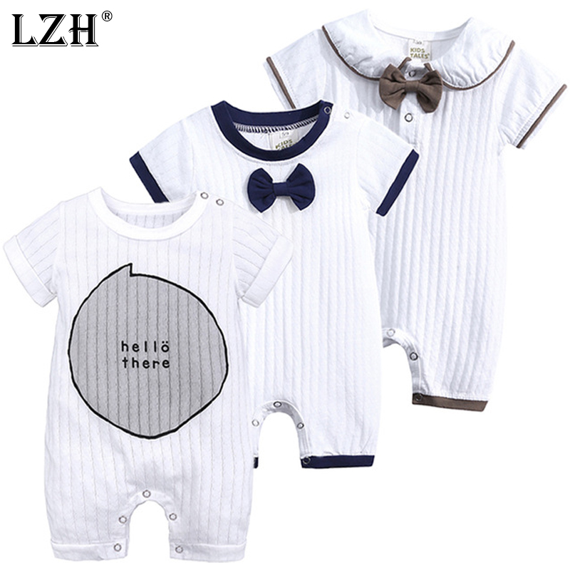 2019 Summer Unisex New Born Baby Boy Clothes For Girl   Romper   Costume Kids Clothing Newborn Overalls Cotton 3 6 9 12 18 Month