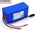 LiitoKala 24V 6 Ah 7S3P 18650 батарея 29 4 v 6000mAh 250W BMS защита Электрический велосипед мопед/Электрический/литий-ионный аккумулятор