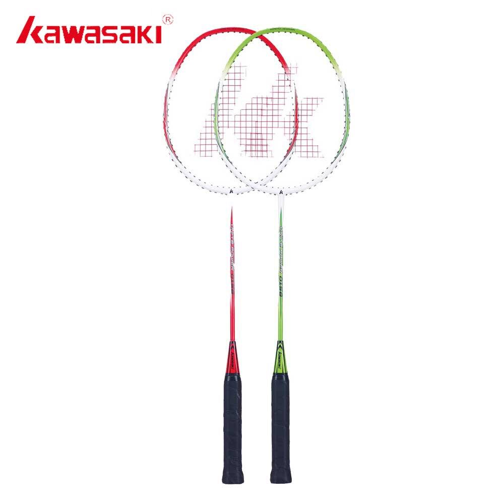 Kawasaki Бадминтон ракетки 1u Алюминий сплав Рамки Бадминтон racquette ракетка с строки для наружного Развлечения до-0158