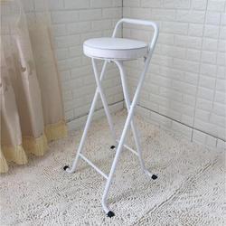 Новый европейский высокий стул барный стул складывание стула рыболовный стул утолщение высокий стул