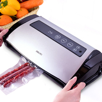 Electric Vacuum Sealer Packaging Machine Kitchen Including Food Saver Bags Vacuum Food Sealing