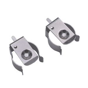 Image 3 - 5pcs/lot THM DIP Metal Stamping AA 1/2AA CR2 Battery Clip, AA 1/2AA CR2 Battery Holder