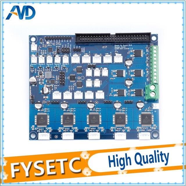 クローニング Duex5 DueX 拡張ボード TMC2660 サポート熱電対や PT100 娘ボード 3D プリンタと Cnc マシン