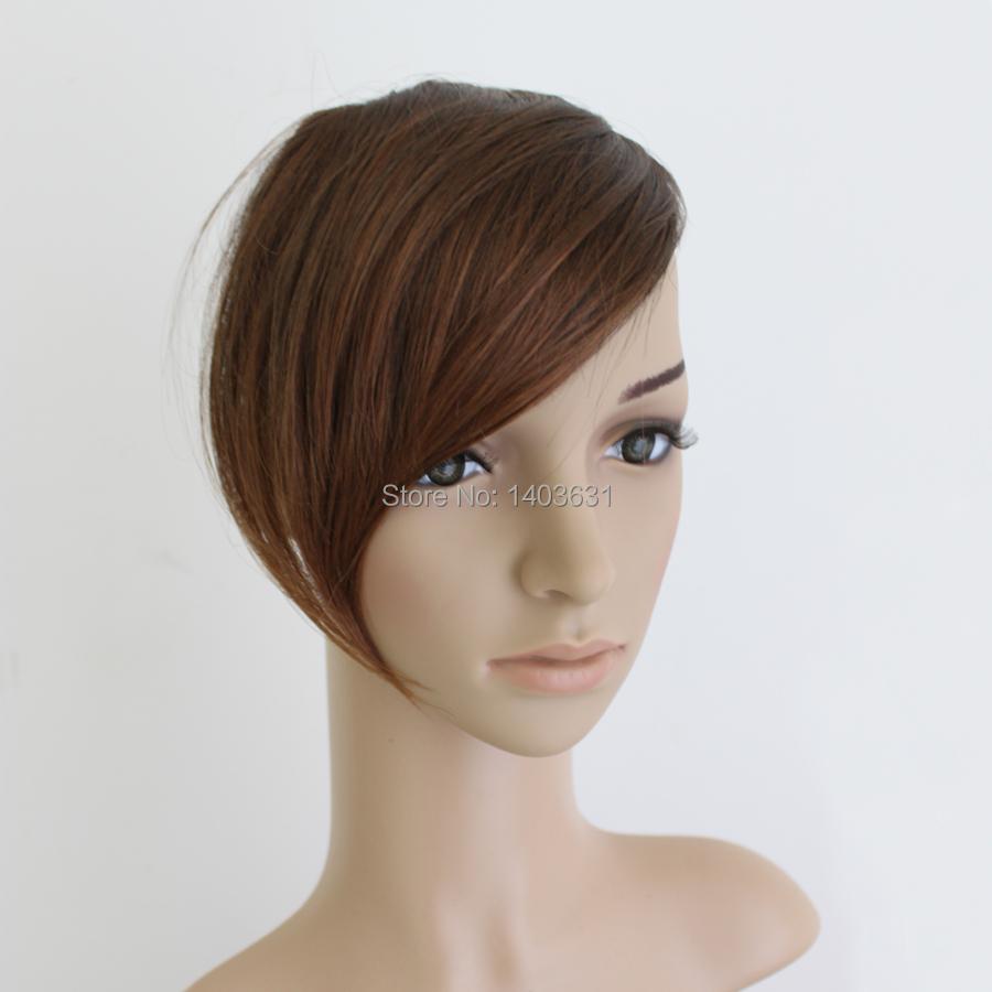 Superb Aliexpress Com Buy Side Swept Bangs High Quality 28Cm Long Hair Short Hairstyles Gunalazisus