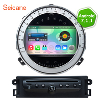 Hottest Android 6 0 HD Touchscreen Radio For 2006 2013 BMW Mini Cooper DVD Player GPS