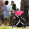 Carro de bebé con alto paisaje amortiguadores puede sentarse y doblar ligeramente el bebé paraguas