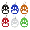 TEMLUM 6 Pcs 6colors Bear S Paw Personalized Beer Bottle Opener Keychains Bottle Opener Keychain Animal