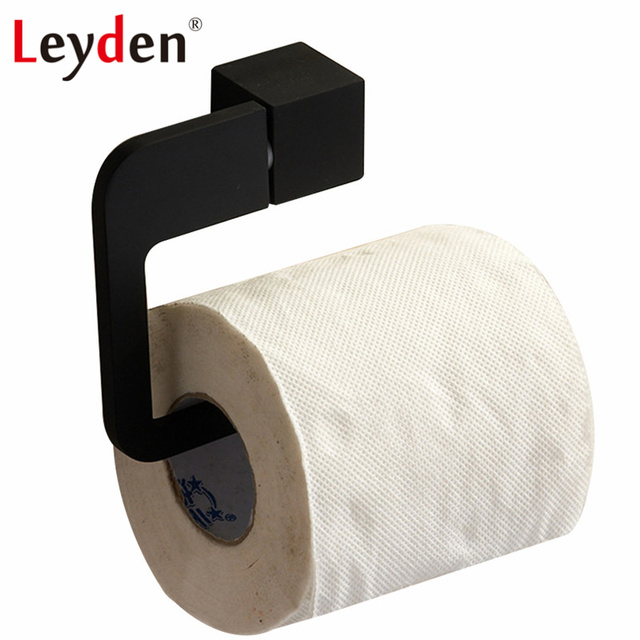 Leyden Sus 304 Stainless Steel Toilet Roll Holder Tissue Wall Mounted Paper