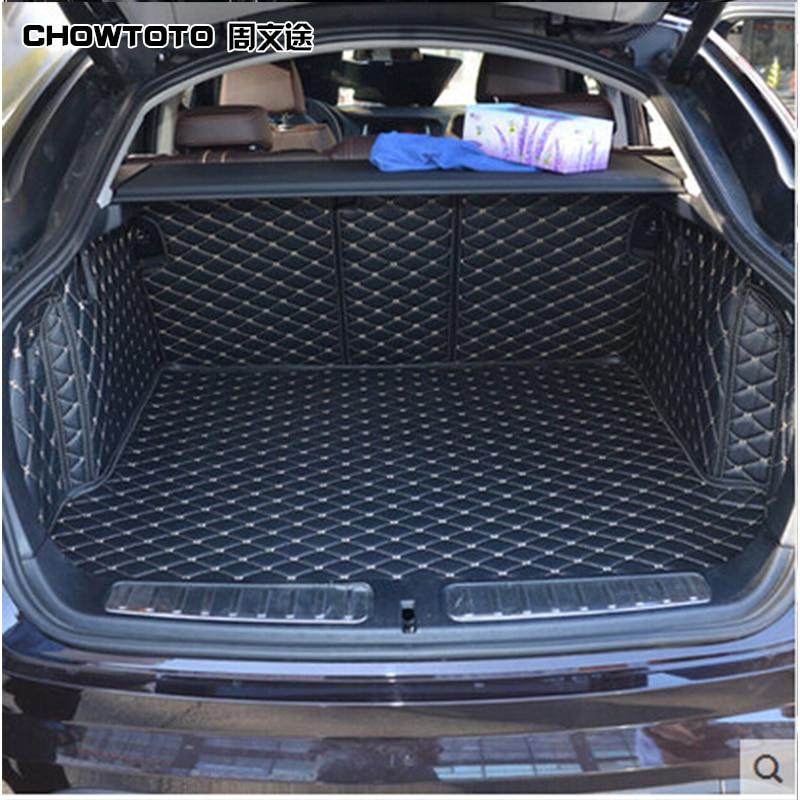 CHOWTOTO AA Tapetes especiales para maletero del coche para BMW X4 - Accesorios de interior de coche